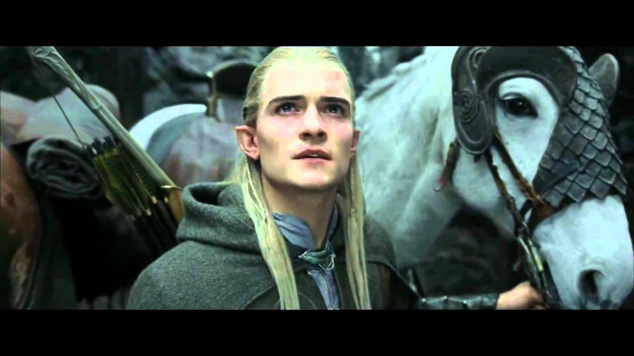Awesome Lord Of The Rings   Legolas   Cheesiest Lines   YouTube
