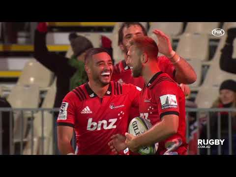Super Rugby 2019 Round 17: Crusaders vs Rebels