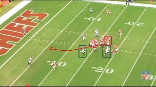 Chiefs Shovel Pass