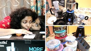 UnBoxing Preethi Zion Mixer Grinder (In Tamil) | Amazon Shopping Haul Under Rs.500