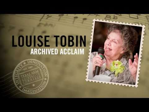 Louise Tobin donates collection to Texas A&M University-Commerce
