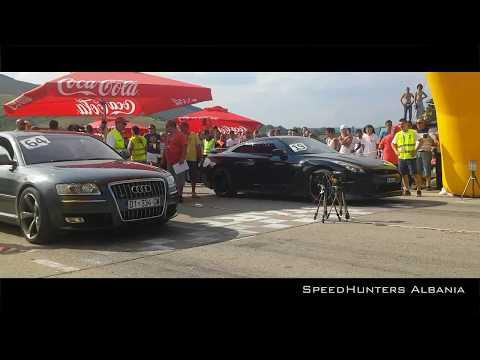 Nissan GTR Spec-V vs AUDI S8 - YouTube