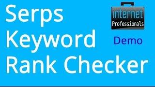 Serps Keyword Rank Checker