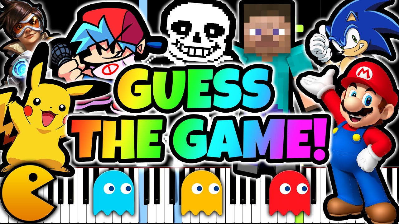 Only 1% Can Guess These Games In 10 Seconds (Music Quiz)