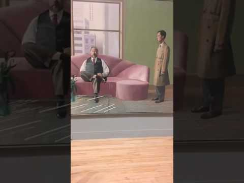 a tour of a major David Hockney exhibition at Tate Britain with curator Chris Stephens