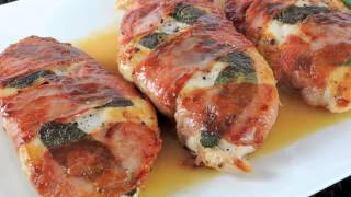 Saltimbocca - Chicken or Veal with MORE FLAVOR /recipe