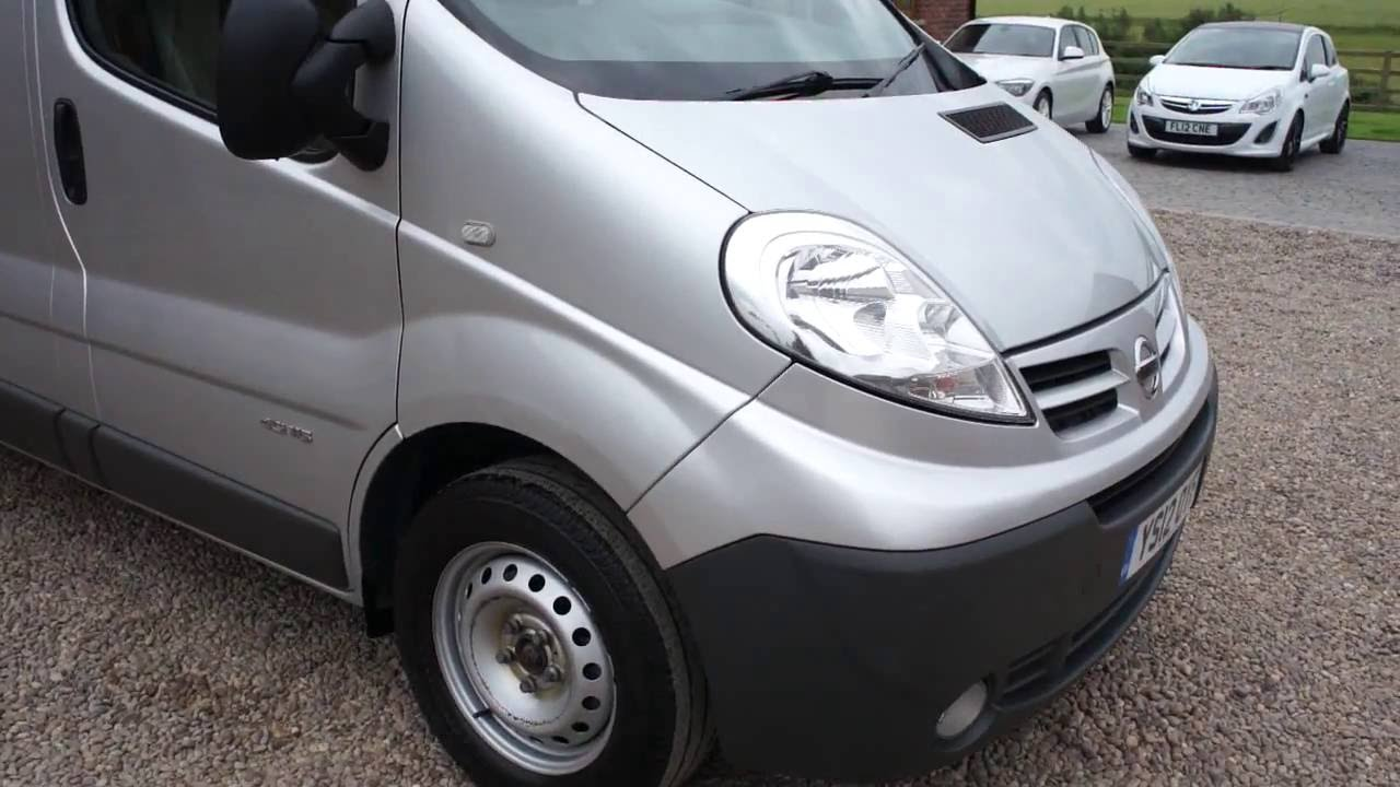 88816228dd Nissan Primastar 2.0TD SE L2 H1 3000 Panel Van - YouTube