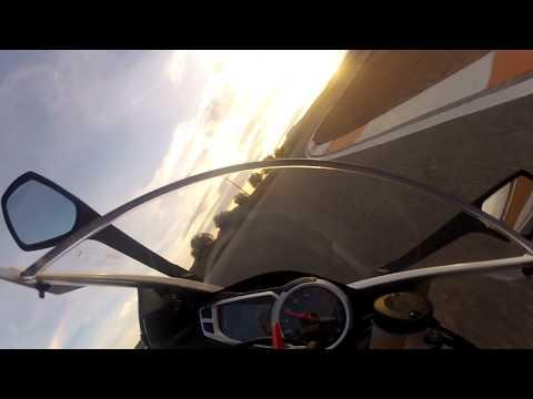 Triumph Daytona 675 R Test Cartagena - Fast Lap!