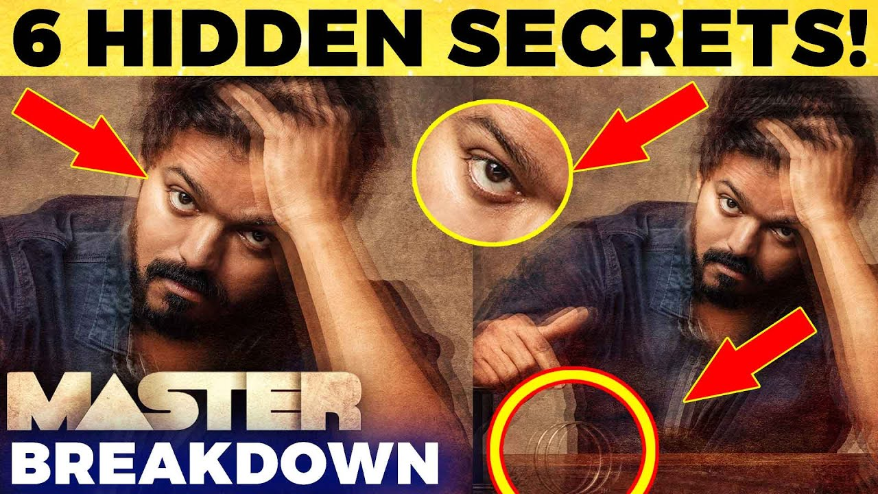 MASTER: 6 Unnoticed Hidden Things Revealed! | Complete Analysis | Thalapathy Vijay