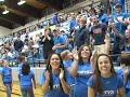 UNC Asheville's John Williams Dunks during dunk contest