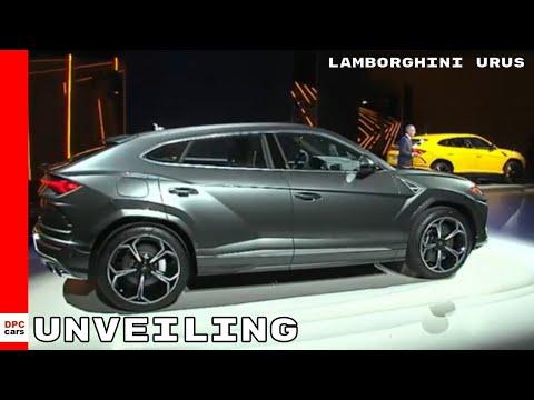 2019 Lamborghini Urus SUV Unveiling