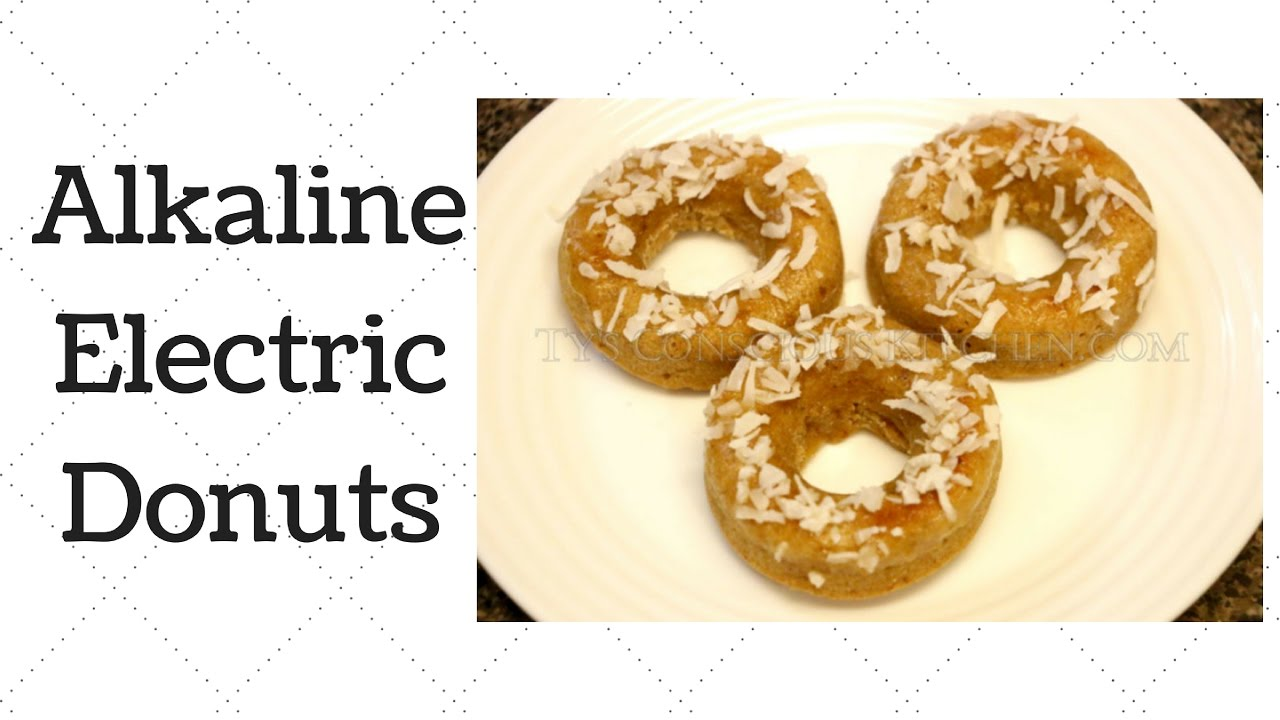 Donuts Dr  Sebi Alkaline Electric Recipe