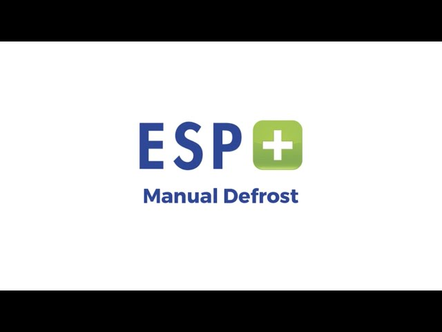 Video 5 - Manual Defrost