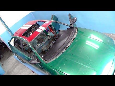 Mazda 323F.  Как поставить люк.   ЧАСТЬ ПЕРВАЯ.