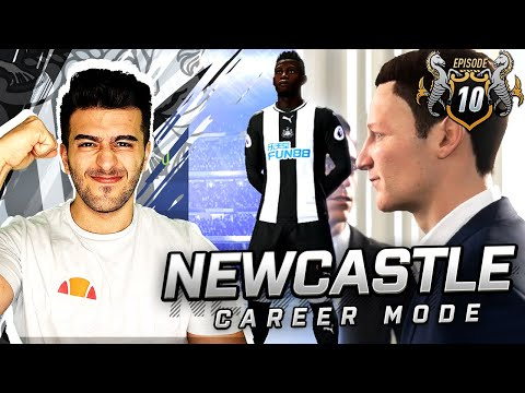 2019/2020 KITS! NEW STRIKER TRANSFER JOINS NEWCASTLE! - FIFA 19 NEWCASTLE CAREER MODE #10