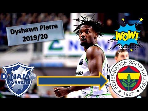 Dyshawn Pierre Welcome To Fenerbahçe ● 2019/20 Best Plays \u0026 Highlights
