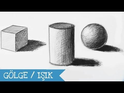 Güzel Sanatlara Hazırlık -7- YENİ BAŞLAYANLAR İÇİN ÇİZİM TEKNİKLERİ-SİLİNDİR
