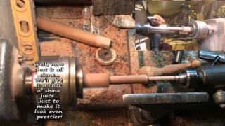 Wood Turning 125 Texted Load'n Lock