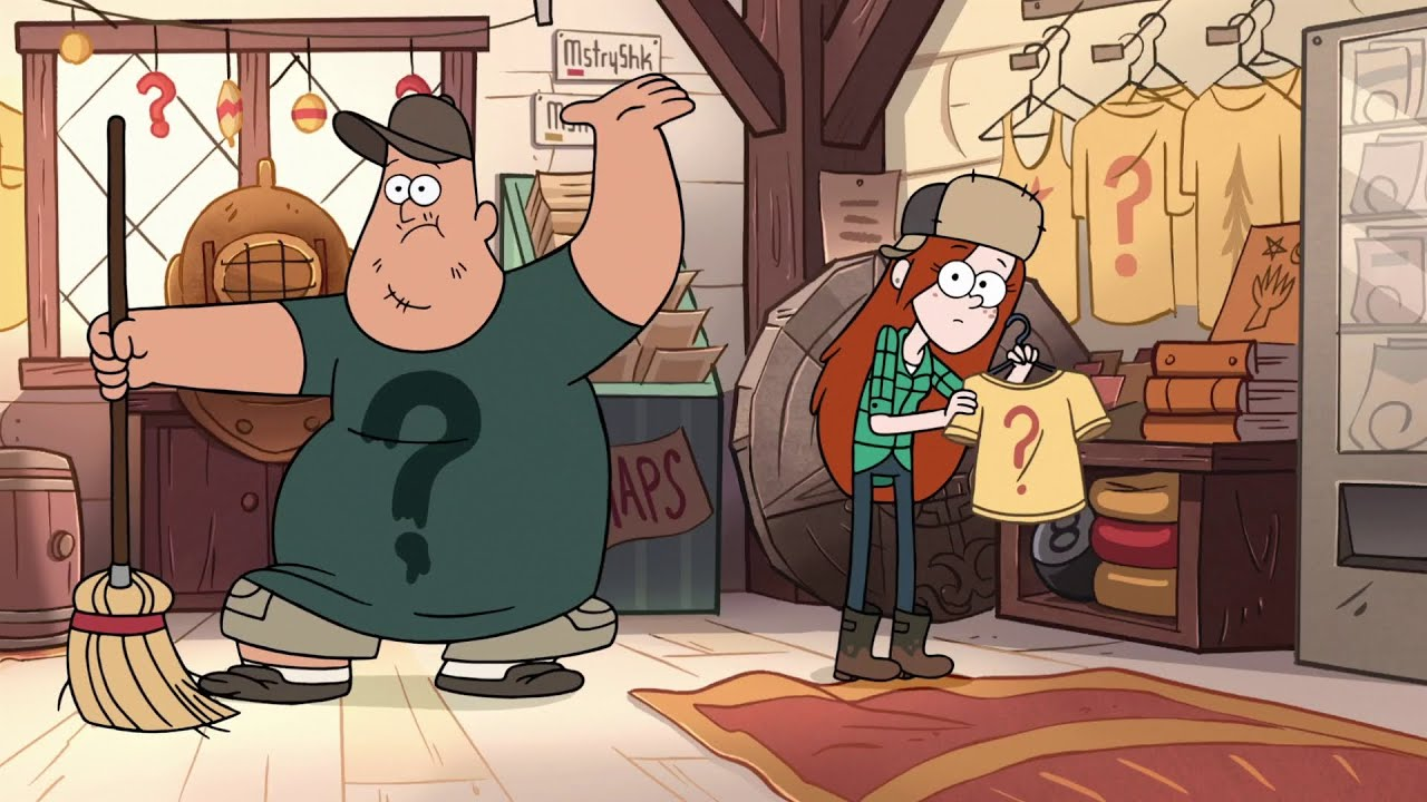 Gravity Falls Mystery Shack Wallpaper Gravity Falls Straight Blanchin Hd Youtube