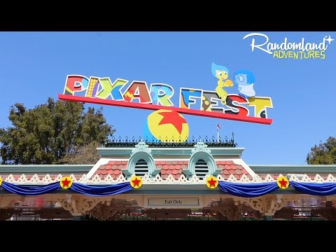 PIXAR FEST at Disneyland and DCA!
