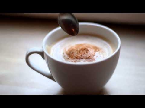 Free stock footage | coffee cappuccino 1080p [HD] dslr