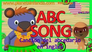 Cancion del Abecedario en Ingles ALPHABET SONG Spanish Cartoon Dibujos animados con el Oso Baloo