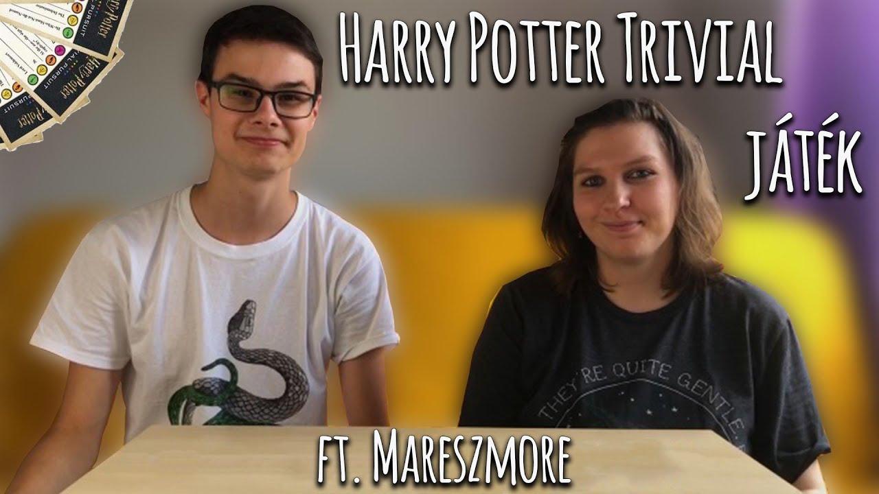 Harry Potter Trivial Pursuit társasjáték   Mareszmore & Harry Potter Világa