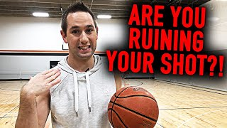DON'T do THIS on your Jump Shot | Instantly Increase Shooting Consistency