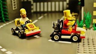 "LEGO Simpsons ""Go Kart Race"""