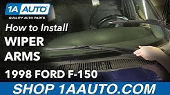 How to Replace Windshield Wiper Arms 97-03 Ford F-150