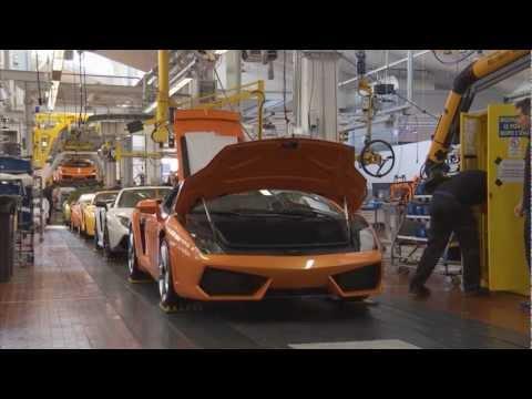 Lamborghini history - Part 4 - Making a Lambo HD