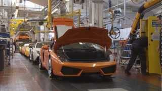 Lamborghini history - Part 4 - Making a Lambo HD