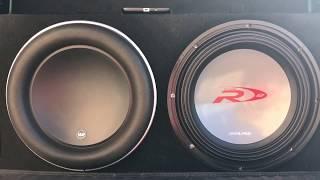 JL AUDIO W7 12 vs. ALPINE TYPE R 12 MAX SPL SHOWDOWN