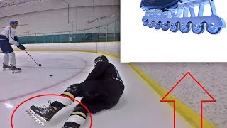 Using Agility Blades ON THE ICE!?