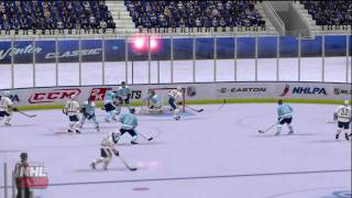 NHL 2K10 - Winter Classic at Ralph WIlson Stadium Period 1