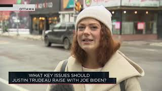 What key issues should Justin Trudeau raise with Joe Biden? | Outburst