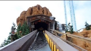 New Timber Mountain Log Ride POV 2013 Knott's Berry Farm