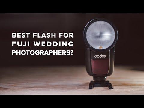 Godox V1 Review - Best Fujifilm Flash for Wedding photography?