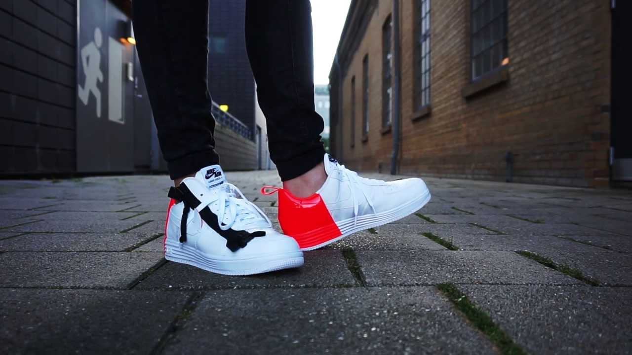 new arrival 6ac71 5d96d ... wholesale nikelab x acronym lunar force 1 sp on feet youtube b1da6 f785e