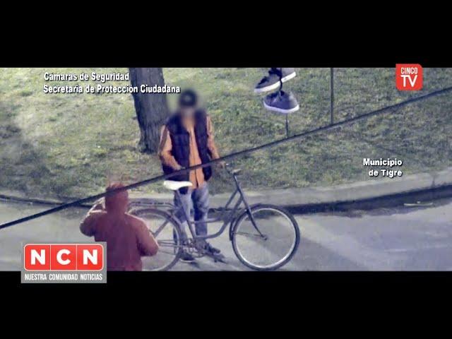 CINCO TV  - El COT le puso freno al robo de una bicicleta en Troncos del Talar