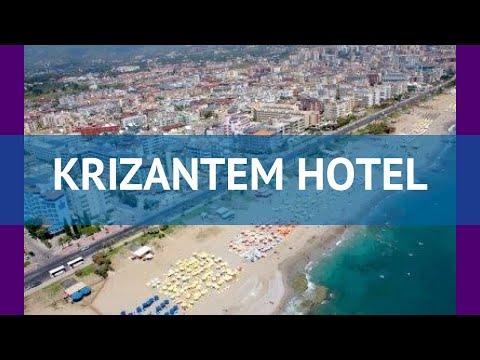 KRIZANTEM HOTEL 4* Турция Алания обзор – отель КРИЗАНТЕМ ХОТЕЛ 4* Алания видео обзор