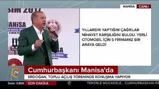 Cumhurbaşkanı Erdoğan: İşsizliği tek haneli rakama çekeceğiz