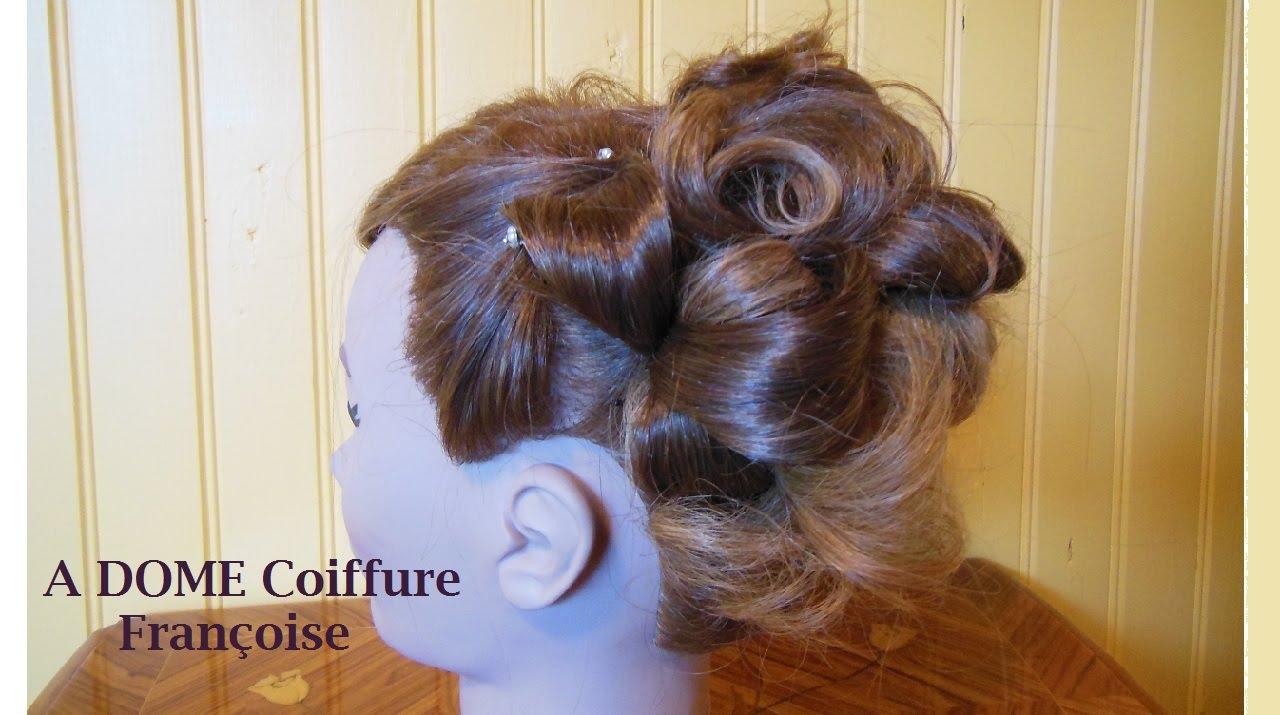 """Coiffure/Chignon """"Boucles-2 queues de cheval""""-Hairstyle """"Curls-2 Ponytails""""-""""Bucles-2 coletas ..."""