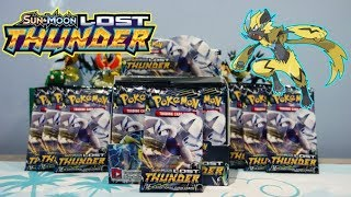 Pokemon Lost Thunder Booster box ALL Lugia Packs Opening!