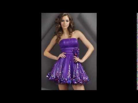 Imagenes de vestidos cortos para xv