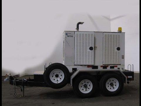 Cummins 35 KW Standby, Portable / Trailer Mounted, Diesel Generator Set - Stock# 44533004