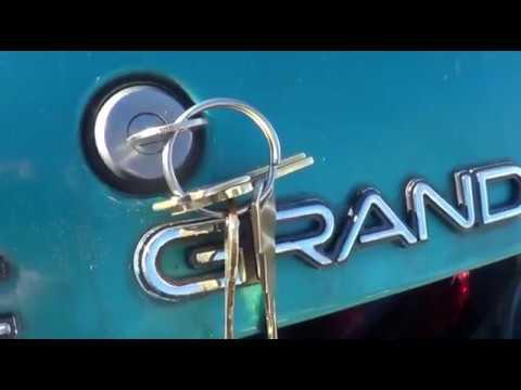 1995 Pontiac Grand Am Trunk Lock Cylinder Replacement