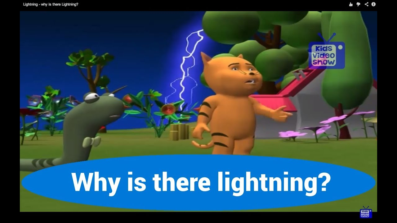 What Causes Lightning? - Lightning Facts for Kids - YouTube