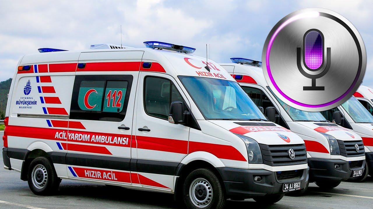 Siri ile Nasıl Ambulans Çağırılır? - Siri'nin Hayat Kurtaran Özelliği!