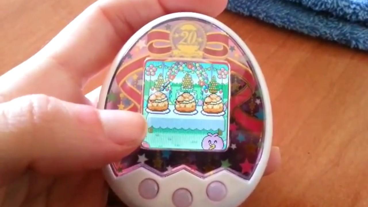 Tamagotchi M X 20th Anniversary Gift Set Juegos Games Youtube